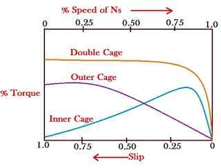 double squirrel cage induction motor