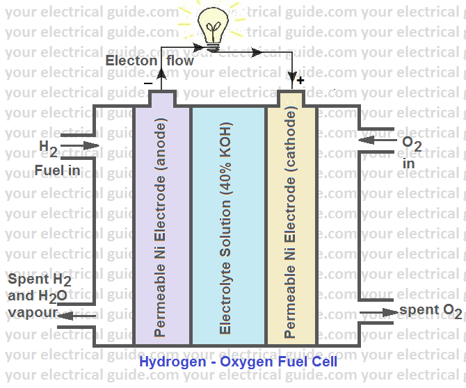 fuel cell working principle